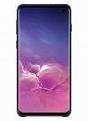 Husa Protectie Spate Samsung Silicone Cover pentru Samsung Galaxy S10, EF-PG973TBEGWW - Black