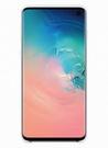 Husa Protectie Spate Samsung Silicone Cover pentru Samsung Galaxy S10, EF-PG973TWEGWW - White