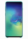 Husa Protectie Spate Samsung Silicone Cover pentru Samsung Galaxy S10, EF-PG973TGEGWW - Green
