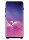 Husa Protectie Spate Samsung Silicone Cover pentru Samsung Galaxy S10 Plus, EF-PG975TBEGWW - Black