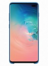 Husa Protectie Spate Samsung Silicone Cover pentru Samsung Galaxy S10 Plus, EF-PG975TLEGWW - Blue