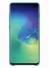 Husa Protectie Spate Samsung Silicone Cover pentru Samsung Galaxy S10 Plus, EF-PG975TGEGWW - Green