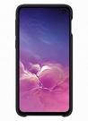 Husa Protectie Spate Samsung Leather Cover pentru Samsung Galaxy S10e, EF-VG970LBEGWW - Black