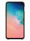 Husa Protectie Spate Samsung Leather Cover pentru Samsung Galaxy S10e, EF-VG970LJEGWW - Gray