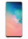Husa Protectie Spate Samsung Leather Cover pentru Samsung Galaxy S10, EF-VG973LWEGWW - White
