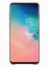 Husa Protectie Spate Samsung Leather Cover pentru Samsung Galaxy S10, EF-VG973LJEGWW - Gray