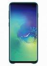 Husa Protectie Spate Samsung Leather Cover pentru Samsung Galaxy S10, EF-VG973LGEGWW - Green