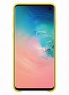 Husa Protectie Spate Samsung Leather Cover pentru Samsung Galaxy S10, EF-VG973LYEGWW - Yellow