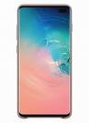 Husa Protectie Spate Samsung Leather Cover pentru Samsung Galaxy S10 Plus, EF-VG975LJEGWW - Gray