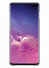 Husa Protectie Spate Samsung Clear Cover pentru Samsung Galaxy S10 Plus, EF-QG975CTEGWW - Transparent