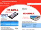 Folie Protectie NoBuba pentru Nokia X / Nokia A110