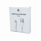 Cablu de date Apple MQUE2ZM/A Lightning to USB, 1m, blister