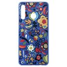 Husa de protectie Huawei Colorful-TPU pentru P30 Lite, 51993074 - Flower Blue