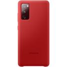 Husa Protectie Spate Samsung Silicone Cover pentru Samsung Galaxy S20 FE, EF-PG780TREGEU - Red