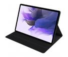 Husa Book Cover Samsung EF-BT730PBEGEU pentru Samsung Galaxy Tab S7+ / S7 FE - Black