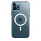 Husa de protectie Apple Clear Case MagSafe pentru iPhone 12 Pro Max, MHLN3ZM/A - Transparent