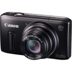 Aparat foto digital Canon PowerShot SX260 HS : 12.1 MPx, 20x Zoom, LCD 3, FullHD, GPS - Black