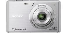 Aparat foto digital Sony DSC-W550 : 14.1 MPx, 4x Zoom, LCD 3 - Silver